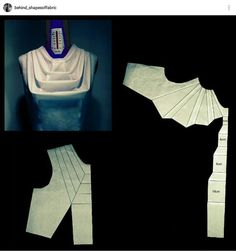 Best 12 Pattern to this sculptural bodice created with panels. Corset Sewing Pattern, Dress Sewing Patterns, Clothing Patterns, Fashion Sewing, Diy Fashion, Fashion Outfits, Techniques Couture, Sewing Techniques, Modelista
