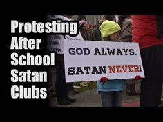 Satan Club for Children Opens at School Amid Strong Opposition - TFP Student Action