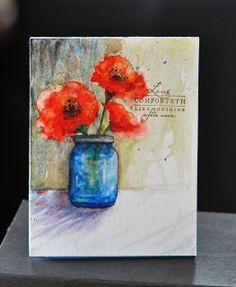 Blooms In a Jar by Sanketi, via Flickr