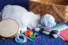 Activity For Kids: My First Sewing Basket
