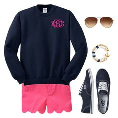 """Lovin Scallops- Comment to be on Taglist!"" by sc-prep-girl ❤ liked on Polyvore featuring Vans and Coach"