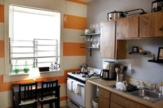 Paint Color Portfolio: Orange Kitchens