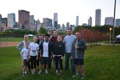 The Chicago Optomi Team at the JP Morgan Challenge!
