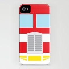 Optimus Prime Transformers iPhone Case (http://society6.com/adamjames/Optimus-Prime-Minimalist_iPhone-Case)