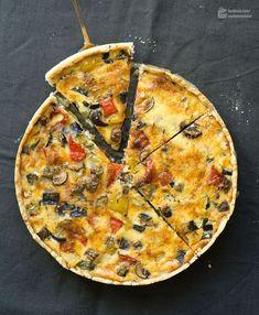 Ratatouille-Quiche (Gemüsekuchen) - Madame Cuisine Rezept