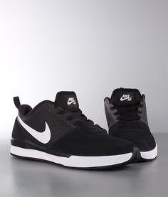 release date f674f b5bf6 Nike - SB Ghost Skor Black White Black - Ridestore.se Sneakers Nike