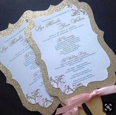 Wedding Fan Programs Glitter Wedding Fan Programs by Diy Wedding Program Fans, Wedding Ceremony Programs, Wedding Fans, Wedding Humor, Glitter Wedding, Gold Wedding, Silver Glitter, Glitter Wine, Glitter Gel