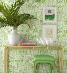 Lilly Pulitzer Launches Wallpaper, Anthropologie's Supersized Stores & More…
