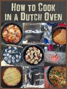 Campfire Food - Different Kinds of Dutch Ovens and Its Usage *** Check out the image by visiting the link. #CampingMeals
