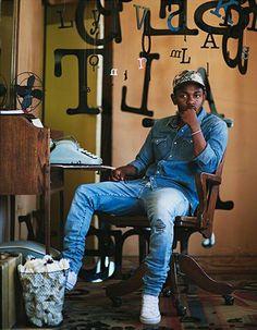 Kendrick Lamar in the Converse Chuck Taylor