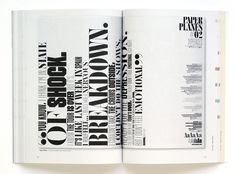 Productive Play. #type #typography #IDN #design #print
