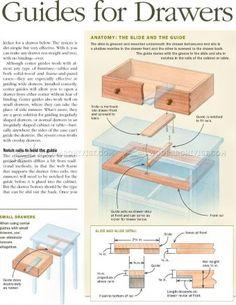 #2226 Making Drawer Center Guide - Drawer Construction