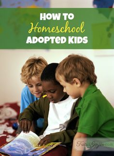 Tricia Goyer shares 5 tips she learned about homeschooling adopted kids.