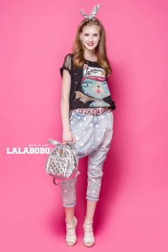 LALABOBO summer new wave point nine pants denim trousers female | L81B-WSNC77-tmall.com Tmall
