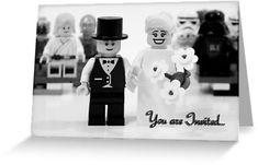 Lego Wedding Invitation-- haha for when you get married Eben! @Steve Buesing