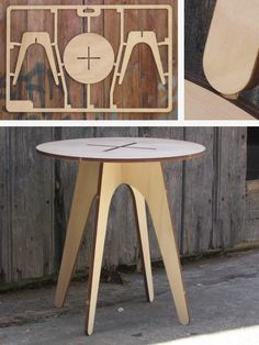 Flat Pack Table (Series II): CNC Laser cut  | followpics.co