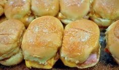 Party Ham Sandwiches