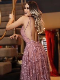 Buy A line V Neck Pink Lace Backless Appliques Prom Dresses Sleeveless Evening Dresses uk on sale.Shop prom or formal dresses from Promdress. Find all of the latest styles and brands in Junior's prom and formal dresses at PromDress. Cheap Evening Dresses, Cheap Prom Dresses, Prom Party Dresses, Sexy Dresses, Formal Dresses, Dress Prom, Boho Prom Dresses, Goddess Prom Dress, Skater Dresses