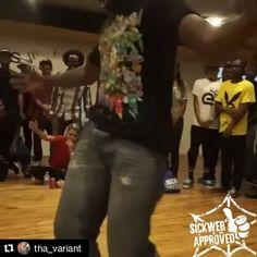 "(Sorry for the double repost we forgot our sickweb stamp of approval ) Here we have a krumper who goes by ""The Variant"" showin us his variety of buck nasty krump movements.. The ladies are lovin it         SICKWEB APPROVED        Dbl tap  if you like this post  #dancelife #dancing #dancepractice #danceeveryday #dancemoves #sickwebmedia #dancebattle #sickwebstreetdance #streetdance #streetdancer #ilovedancing #krump #krumping #krumper #krumplife #krumpers #krumpin #krumpdance #krumpbattle…"
