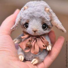 Козленок Оззи #teddy #toy #ooak: