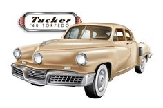 1948 Tucker Torpedo - a truly revolutionary vehicle (killed by the industrial elite).