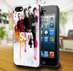 Sum 41 Rock Band iPhone 5 Case | kogadvertising - Accessories on ArtFire