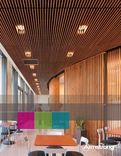 Ceiling Wall SyStem S WOODWORKS Grille - Armstrong World - armstrong