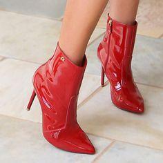 Bota Vermelha Carmen