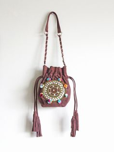 #LEATHER #BOHO #BAG Leather Bag Real Leather Leather by EthnologyShop