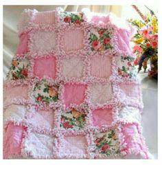 Beautiful Little Rag Quilt