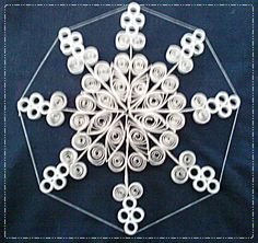 My preparation Quilling Images, Snowflakes, Paper Crafts, Creative, Silver, Jewelry, Tejidos, Jewlery, Snow Flakes