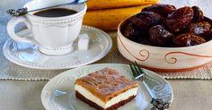 Hozzávalók:     az alsó réteghez:   1 banán   15 dkg őrölt mandula   2 dkg holland kakaó   1 teáskanál útifűmaghéj     a fehér réteg... Paleo, Tiramisu, French Toast, Breakfast, Ethnic Recipes, Food, Guns, Morning Coffee, Meal