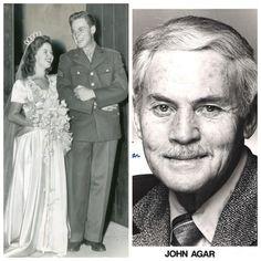 John Agar-Army Air Corps-WW2-Physical fitness instructor-Sergeant (Actor)