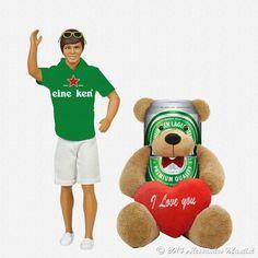 [Iconocluster] Eine Ken & Teddy Beer