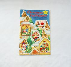 Vintage oversized Christmas children's by HappyCloudImports, $10.00