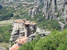 Meteora, Monasterio, Piedra, Cliff