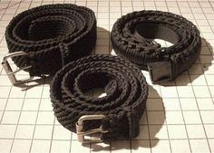 Homemade Paracord Belt
