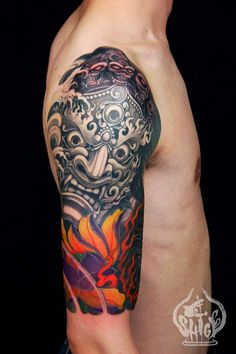 Cool Sleeves tattoo - Yellowblaze
