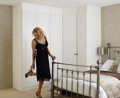 Corner wardrobe Corner Wardrobe, Walk In Wardrobe, Wardrobe Ideas, Teen Bedroom, Bedroom Ideas, Master Bedroom, Fitted Wardrobes, Beautiful Bedrooms, Bedroom Furniture