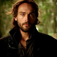Tom Mison as Ichabod Crane in the new Sleepy Hollow TV show. #gorgeous