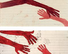 Louise Bourgeois Artwork Gallery in Alphabetical Order Gravure Illustration, Illustration Art, Louise Bourgeois Art, Show Of Hands, Hand Art, Illustrations, Art Plastique, Oeuvre D'art, American Artists
