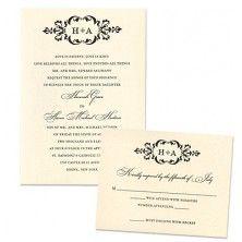 Cecilia Wedding Invitations - MyGatsby Invitations