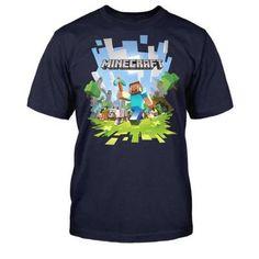 Minecraft - Adventure Jungen T-Shirt - Blau - Größe 8/128 #shirt