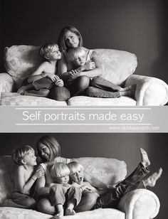 Self Portraits Made Easy by Lacey Meyers via Click it Up a  Notch