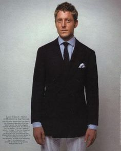 Lapo Elkann in Style of The Times « The Sartorialist