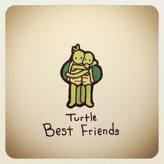 Turtle Best Friends
