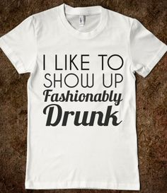 So funny!! I would so wear this to the right occasion :)