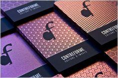 Contreforme's business cards are silk printed, iridescent white, on anthracite paper, by swiss silk printer Lorenz Boegli. Ci Design, Love Design, Paper Design, Make Business Cards, Business Card Design, Bussiness Card, Identity, Graphic Design Inspiration, Work Inspiration