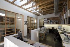 former 1920s grocery refurbished for creative office space