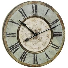 Coastal Wooden Wall Clock - Home Decor